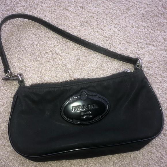 Prada mini nylon shoulder bag. M 5ac400df5512fdd6b4968c30 01bb17323d